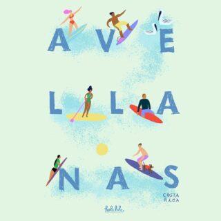 NUEVO Aquarelle Holalola❤️AVELLANAS 🌴🏄🏽♂️ #quierounholalola