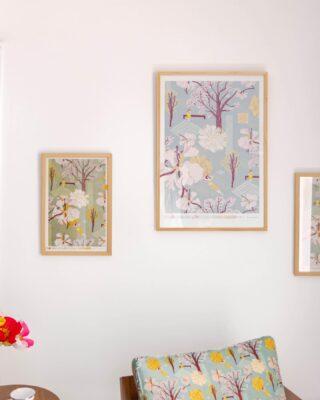 ¡Para l@s que aman los roble sabana y cortez amarillo esta colección es para vos, desde afiches hasta hermosos pañuelos!💗🌸🌼 #quierounholalola