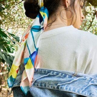 Nada más lindo que jugar con nuestros pañuelos y las muchísimas maneras de poder peinarte con ellos todos los días❤️😍 #quierounholalola